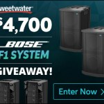 Bose F1 Give-Away by Sweetwater