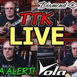 TTK LIVE - Phil / Will Drama Discussed, Diamond Renegade & Gibson Les Paul