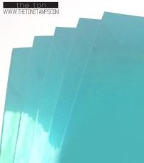 turq foil adhesive paper full sheet