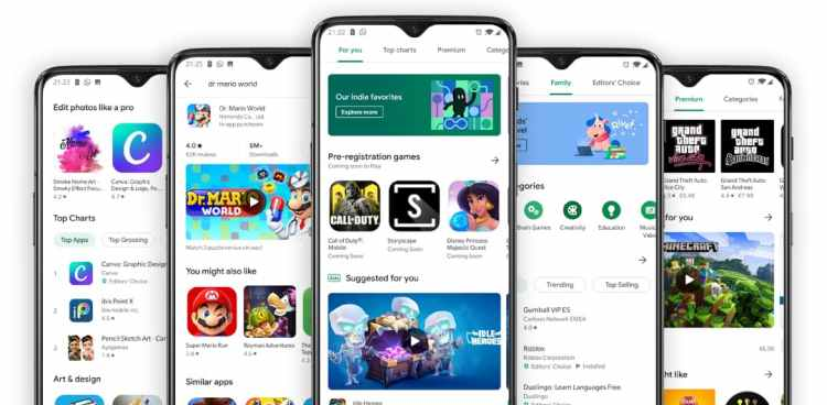 87 Google Play offers: apps and games for free and with great discounts for a short time