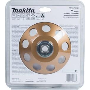 1002454977 -Makita 7 in. Diamond Cup Wheel - 2