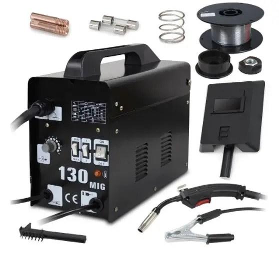 Super Deal PRO Commercial MIG 130 AC Flux Core Wire
