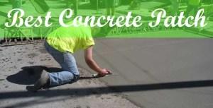 best concrete patching compound