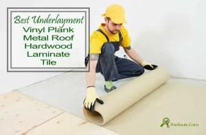 best underlay for laminate flooring