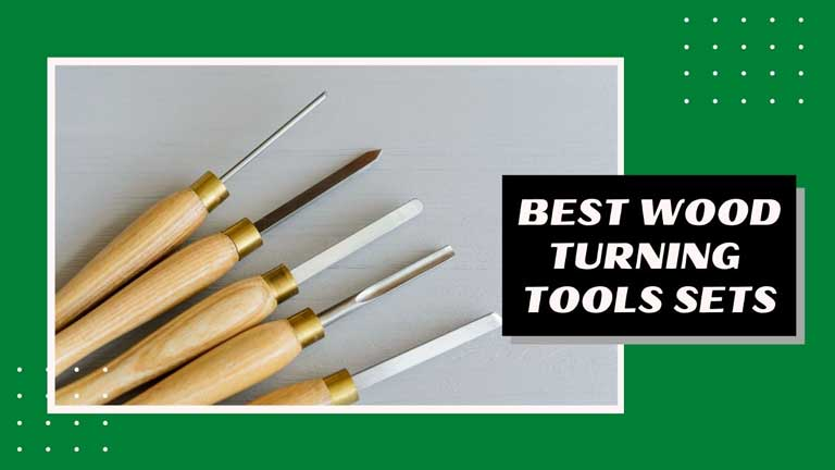 best wood turning tools set lathe chisel sets