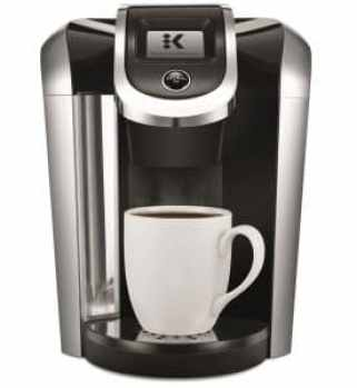 Keurig K475 Single Serve Programmable K- Cup Pod Coffee Maker with 12 oz brew size and temperature control