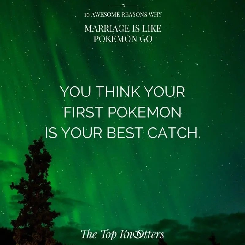 Pokemon Go, Marriage