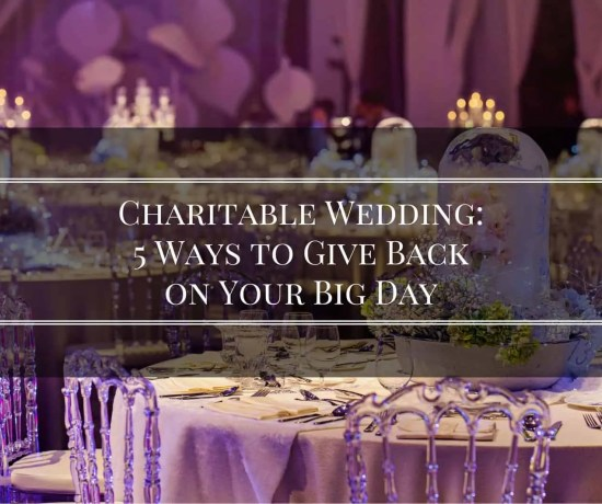charitable wedding