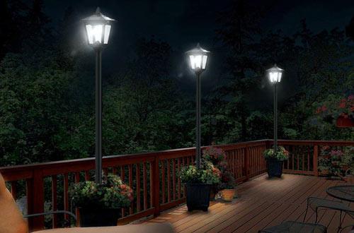best outdoor lamp post lights for