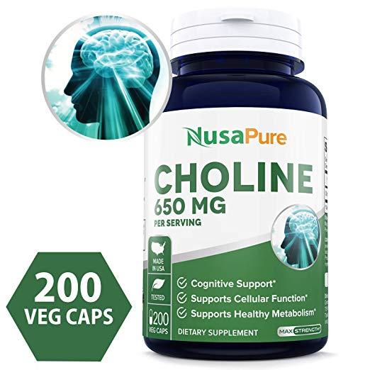 The Best Choline Supplement