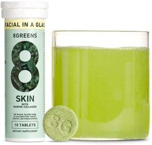 8greens marine collagen, 8greens skin marine collagen, marine collagen peptides, benefits of marine collagen
