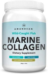 amandean wild caught marine collagen, marine collagen peptides, benefits of marine collagen, marine collagen benefits, pure marine collagen
