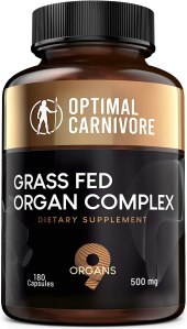 optimal carnivore grass fed organ complex, desiccated liver what is desiccated liver desiccated beef liver