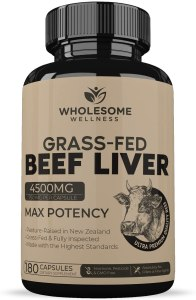 wholesome wellness grassfed beef liver, desiccated liver, desiccated liver benefits, desiccated liver tablets, desiccated liver pills, what is desiccated liver