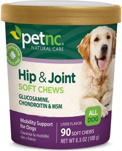 how much glucosamine for dogs