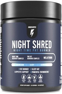 night shred, innosupps night shred, inno supps night shred, night shred review, night shred reviews