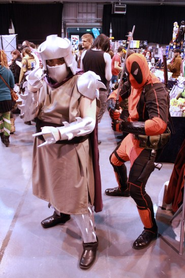 When two worlds colide... MCM Midlands, Feb 2015