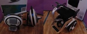 Left: Ninebot One Right: Nino Robotic