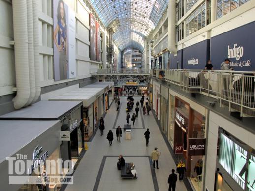 Toronto Eaton Centre renovations focussing on Trinity