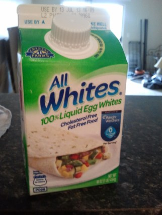 My favorite brand of egg white
