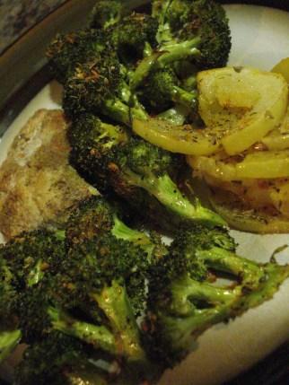 Cumin Chicken, Broccoli, Pepino Melon