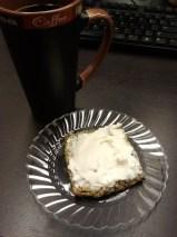Coffee, Flat Bread, Cream Cheese