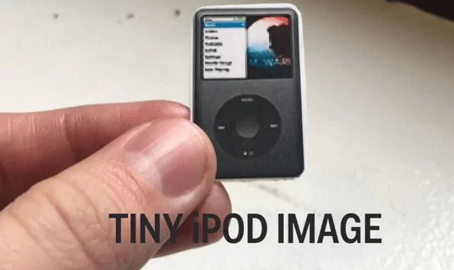 Here is why your jeans have that tiny front pocket 5 Image of a tiny iPod Image