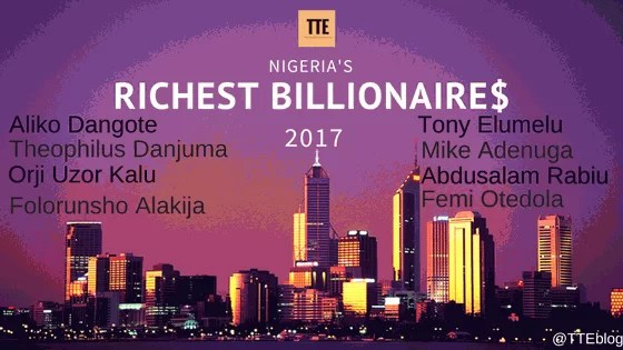 Top 10 Richest Nigerians according to Forbes - The Total Entrepreneurs