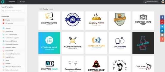 Start making your logo