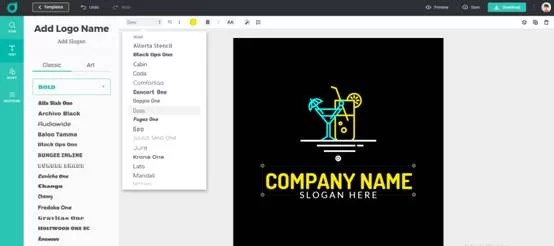 Design Toolbar: Function Explanation