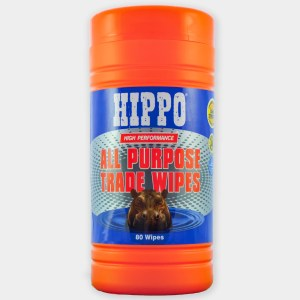 Hippo All Purpose Trade Wipes Large Tub Pack of 80