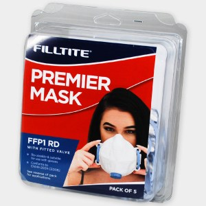 Filltite Premier FFP1 Face Mask Pack of 5