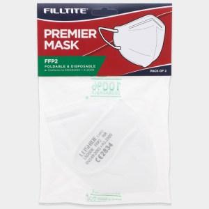 Filltite Premier Foldable Face Mask FFP2