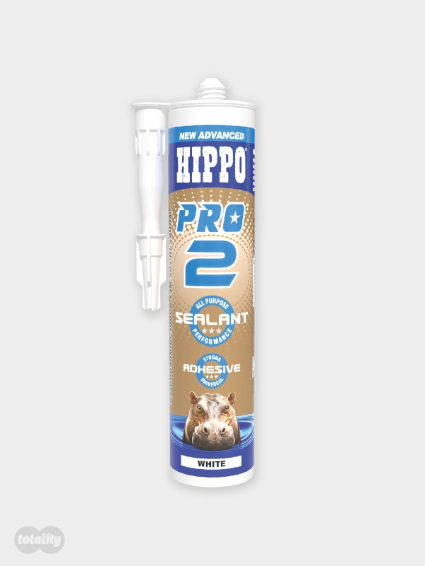 Hippo PRO2 Sealant and Adhesive Cartridge White