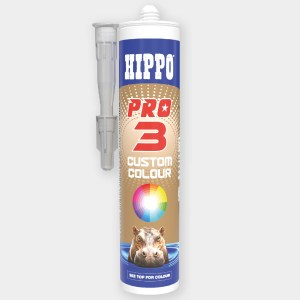 Hippo PRO3 Adhesive, Sealant and Filler Cartridge Custom Colour
