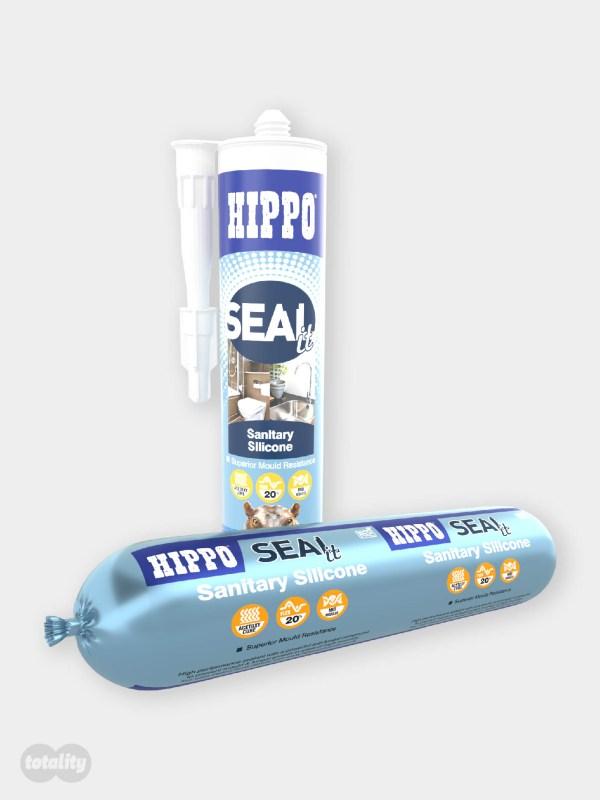 Hippo SEALit Sanitary Silicone Sealant