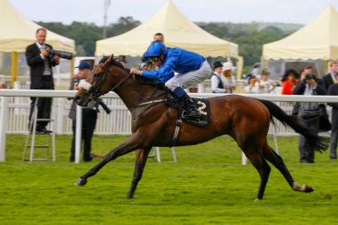 Ribchester - William Buick wins Jersey Stakes (Group 3) Royal Ascot 15/6/16. ©Cranhamphoto.com