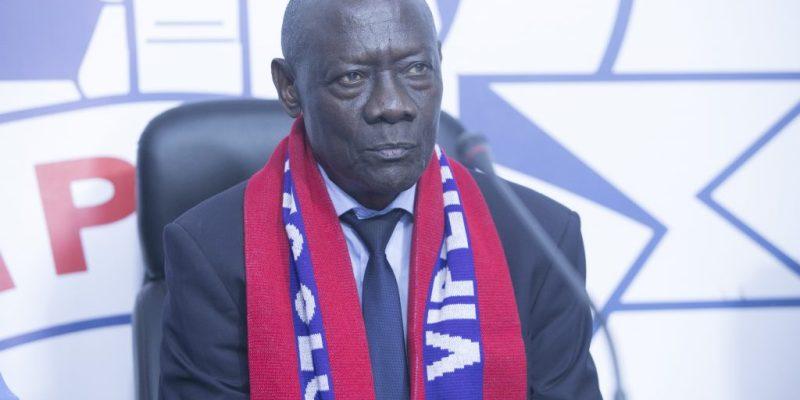 FIFA referee Charles Masembe