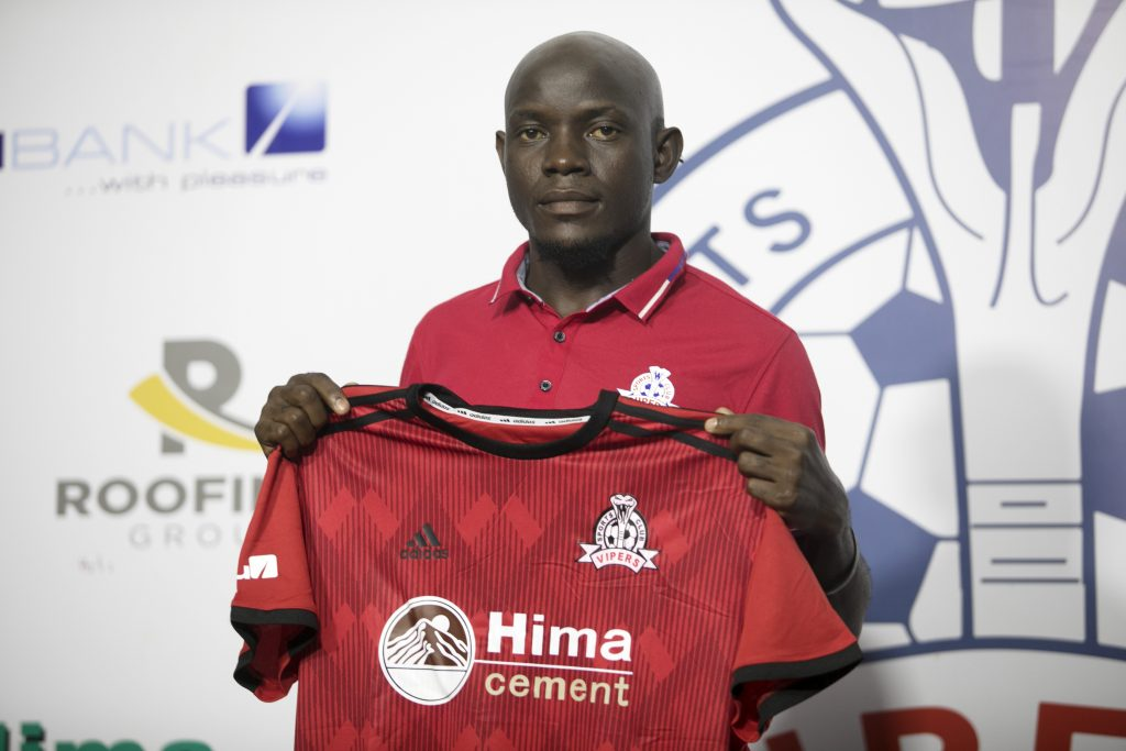 David Bagoole signs for Vipers ahead of the StarTimes UPL 2020/21 season