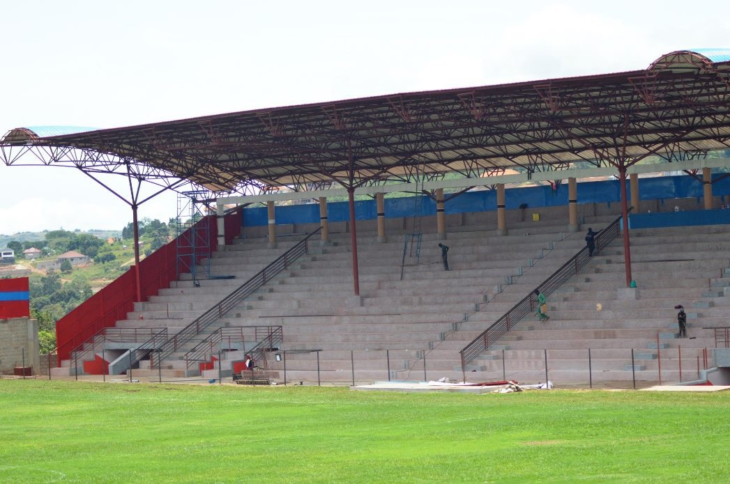 The St. Mary's Stadium , home of Vipers SC - StarTimes UPL 2020/21