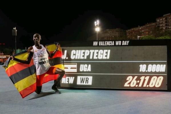 Joshua Cheptegei dream - the touchline sports