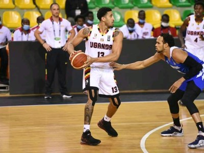 Ishmail Wainwright - Afrobasketball2021qualifiers