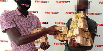 Ugandan farmer wins Fortebet's 1 billion