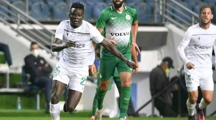 William Kizito Luwagga nets for Hapoel Kfar. they face Ashdod SC next