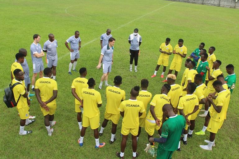 Uganda Cranes in Cameroon