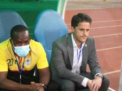 Uganda Cranes coach Jonathan McKinstry