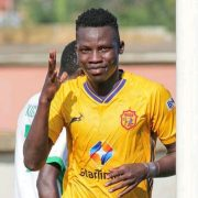 Filbert Obenchan scores as Morley Byekwaso wins first game