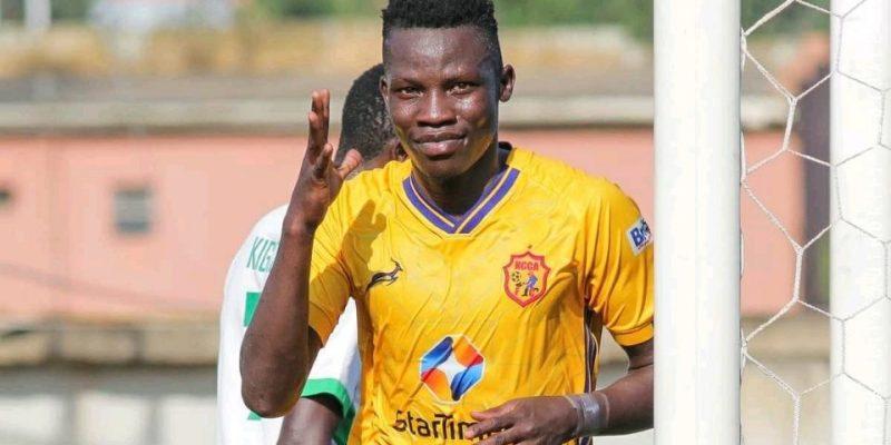 Filbert Obenchan scores as Morley Byekwaso wins first game