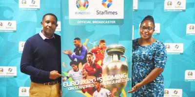 StarTimes - Ismail Lule and Christine Nagujja