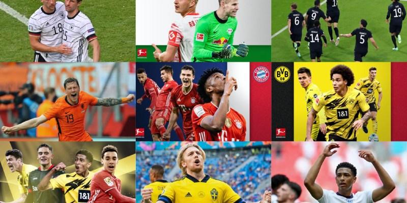 Bundesliga players making a mark at the Euro 2020 tournament